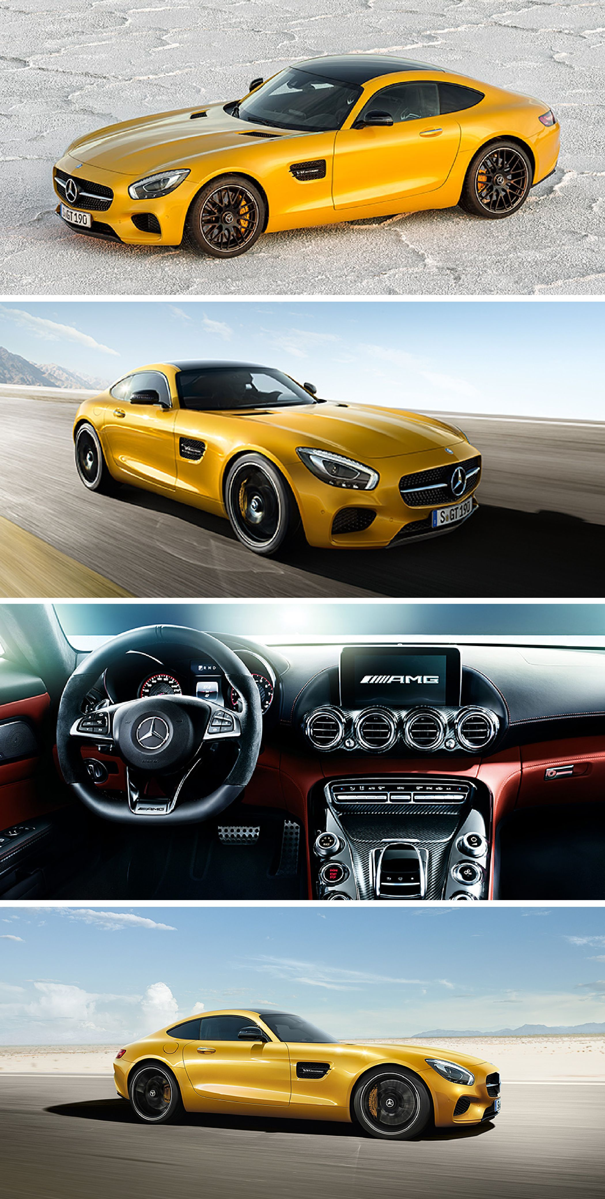 The new Mercedes AMG GT is handcrafted by racers and the driving performance is meant for sports car enthusiasts It delivers on all accounts driving
