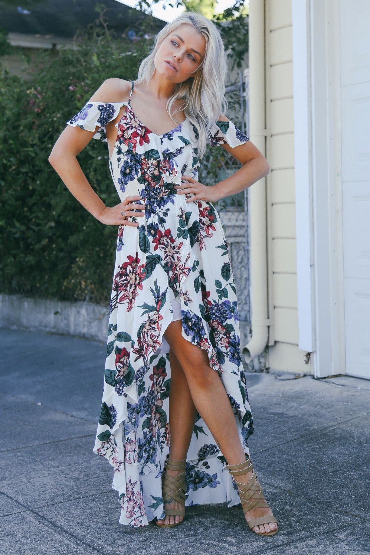 94a903fd12 Tana Floral Maxi | My Style | Floral maxi, Boutique dresses ...
