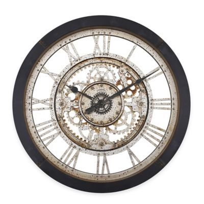 Antique Gear Wall Clock For the Home Pinterest Wall clocks