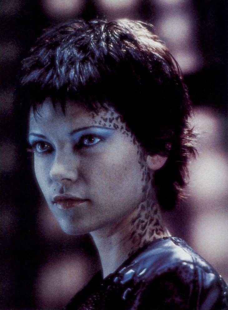 Nicole de Boer as Ezri Dax on