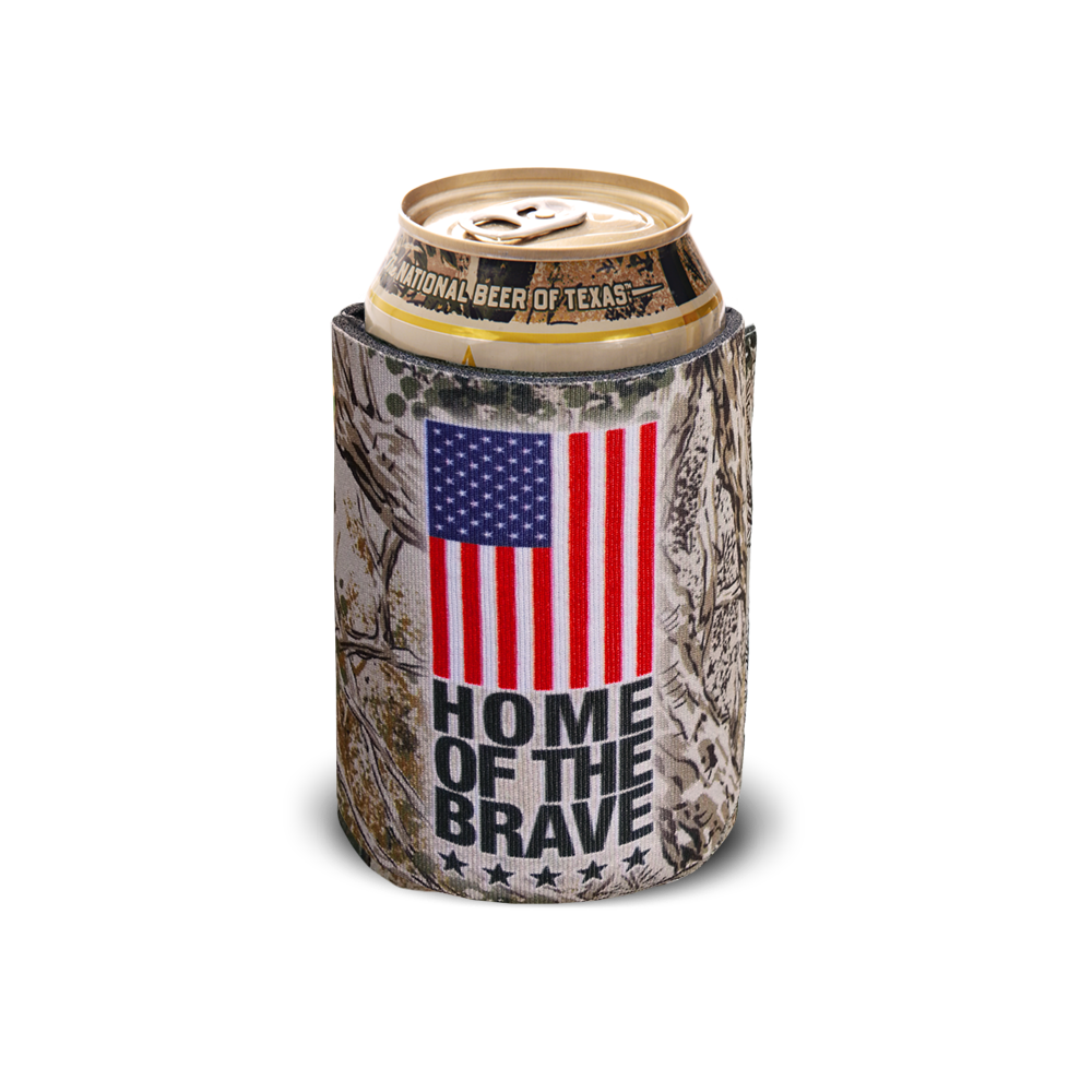 Home Of The Brave Can Coolie