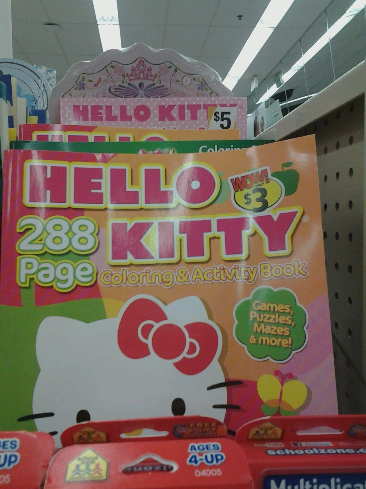 Hello Kitty Coloring Book Walgreens
