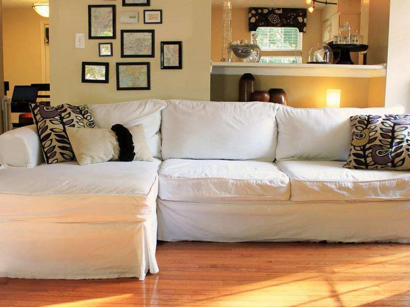 Large Sectional Couch Covers Sectional couch cover