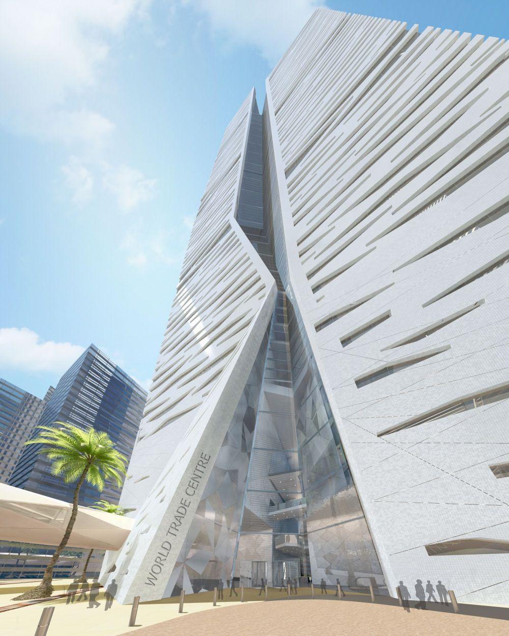 Arch2O Genslers tower (3)   ✈ Arch-interest KSA Saudi Arabia ...