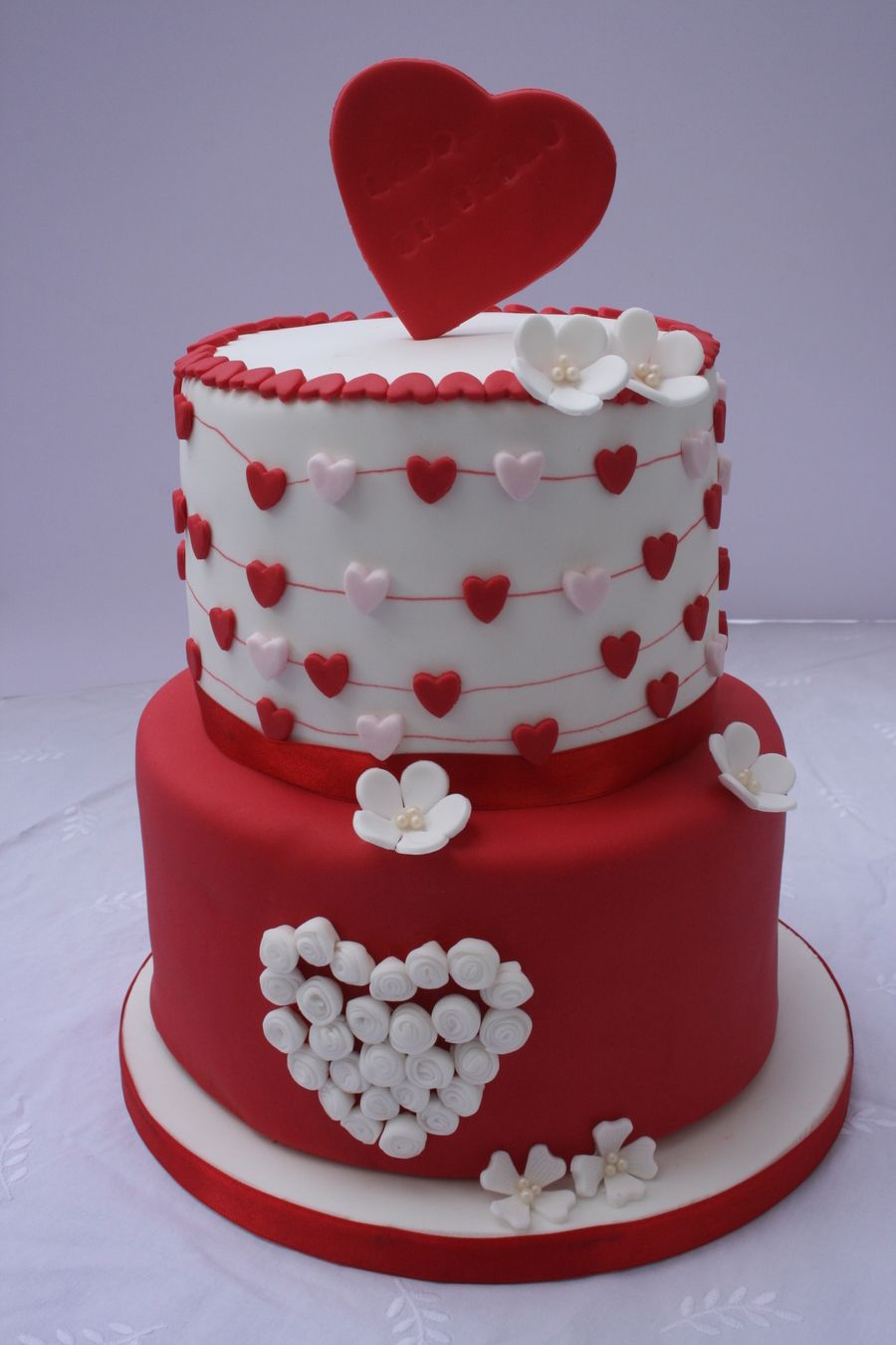 Valentines Birthday Cake On Cake Central Food Cakes And Cupcakes