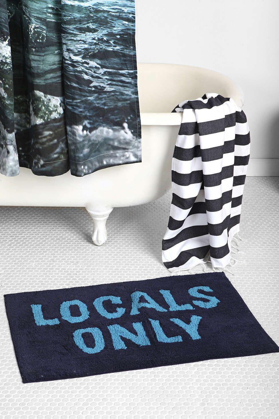 4040 Locust Only Bath Mat