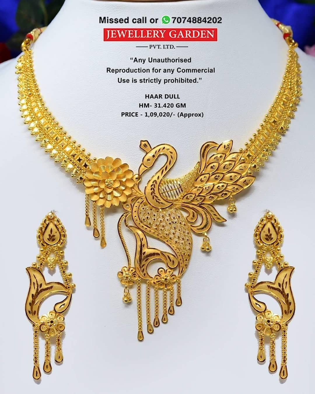 Pin By Em Pty On Screenshots Bridal Gold Jewellery Designs Gold Earrings Designs Gold Necklace Designs