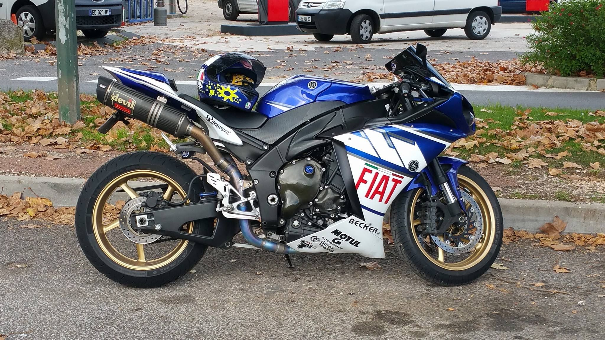 small resolution of 2011 yamaha r1 blue fiat devil exhaust
