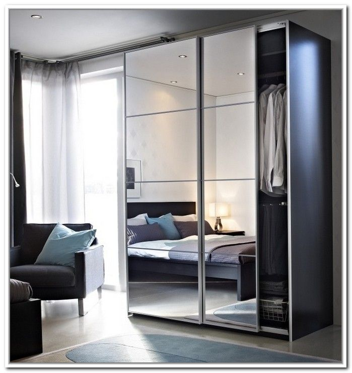 Ikea Sliding Doors Wardrobe Live Well Home In 2018 Pinterest
