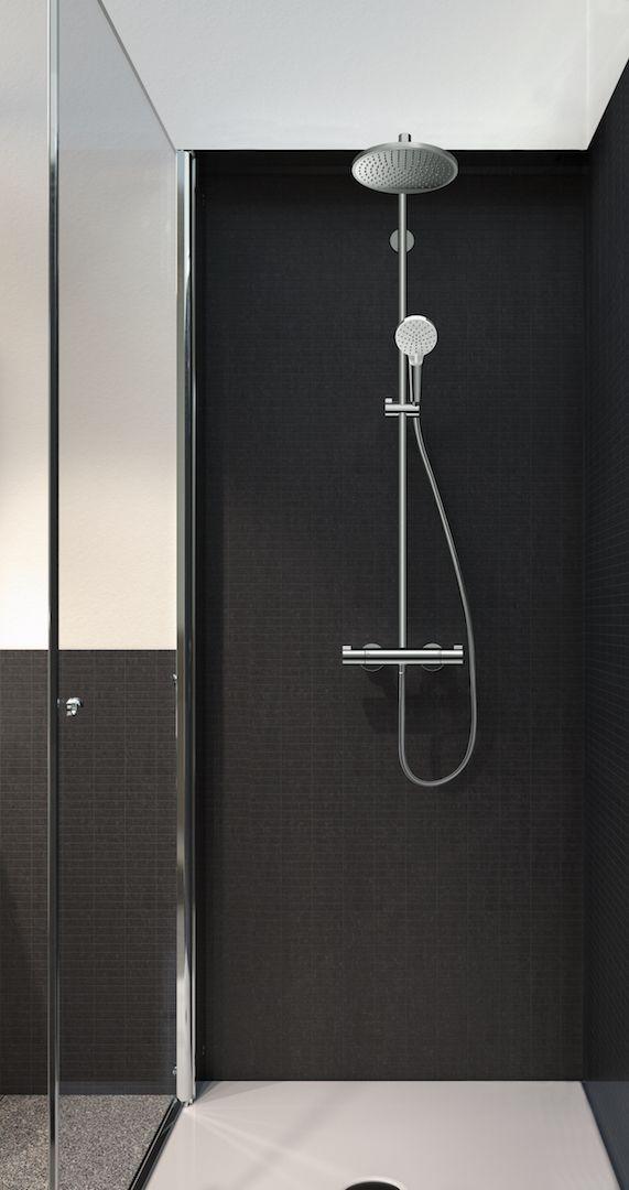 Hansgrohe Showerpipe Crometta 240
