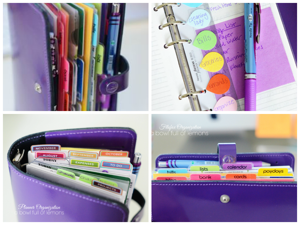 beautiful and organized all in one planner