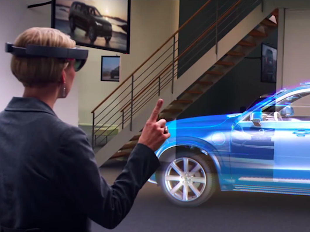Volvo wants to use augmented reality to help sell cars