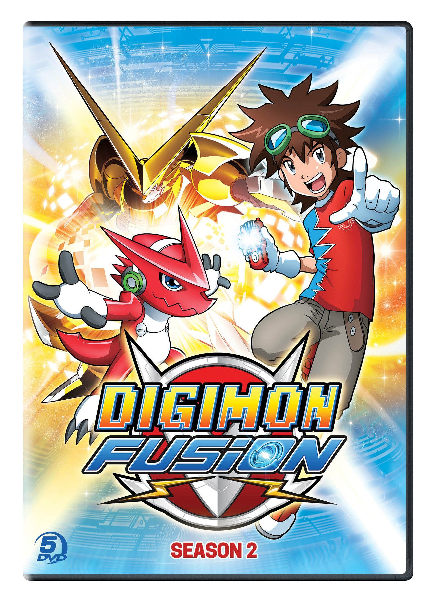 Digimon Fusion Season 2 [USA] [DVD] Fusion, Digimon,