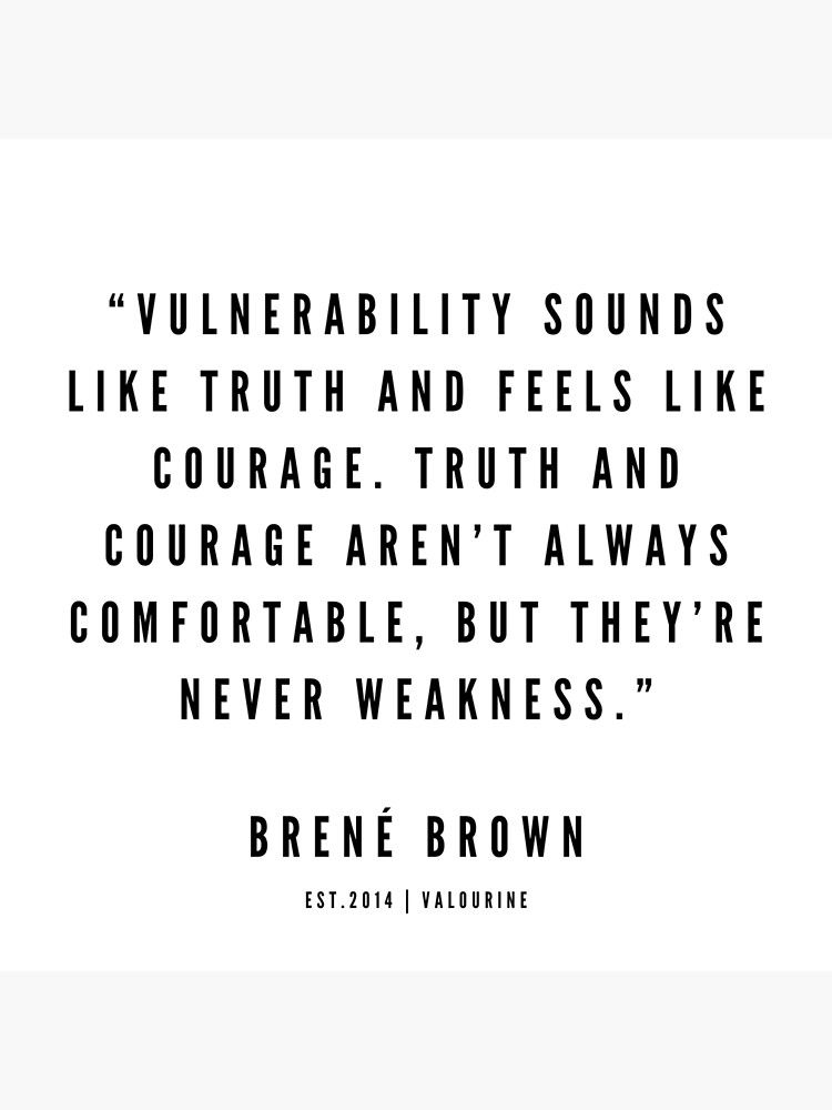 10 | Brene Brown Quotes | 190524 Poster by QuotesGalore