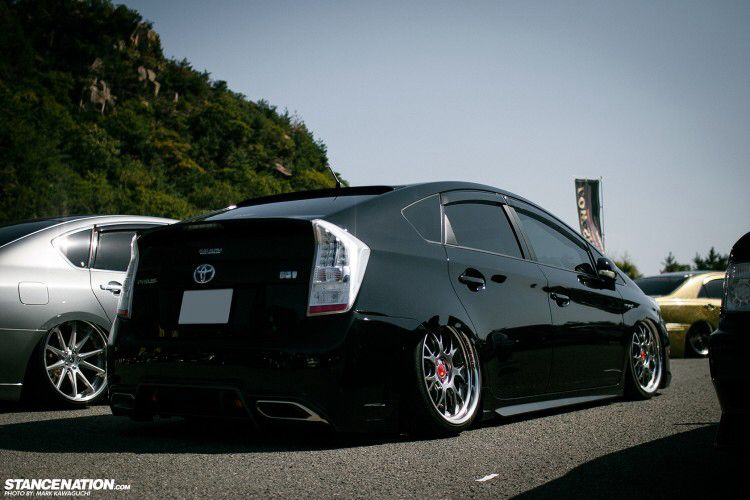 Slammed Prius Toyota Prius Toyota Dealership Toyota Hybrid