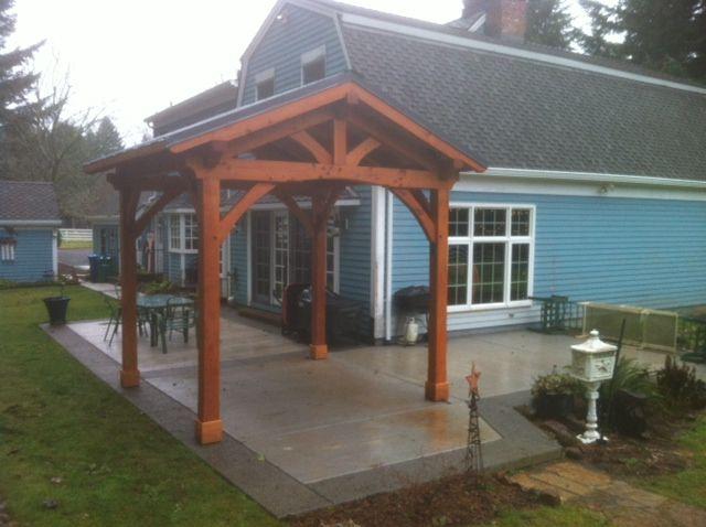 Backyard Pavilion Kits | Outdoor Living | Timber Frame Pavilion Kits