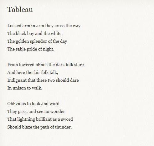 Famous Harlem Renaissance Poems 3