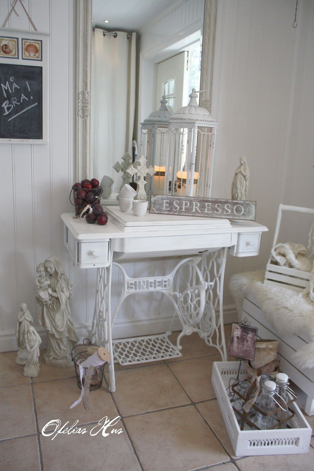 pingl par monique duquenoy sur relooking m bel dekoration et shabby chic. Black Bedroom Furniture Sets. Home Design Ideas