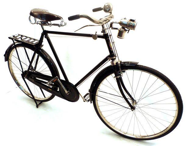 Restauración de bicicleta BSA anterior a 1932. Reciclone.