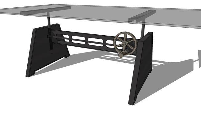 TABLE BASSE BIR-HAKEIM, Maisons du monde Réf 138930 prix499,90
