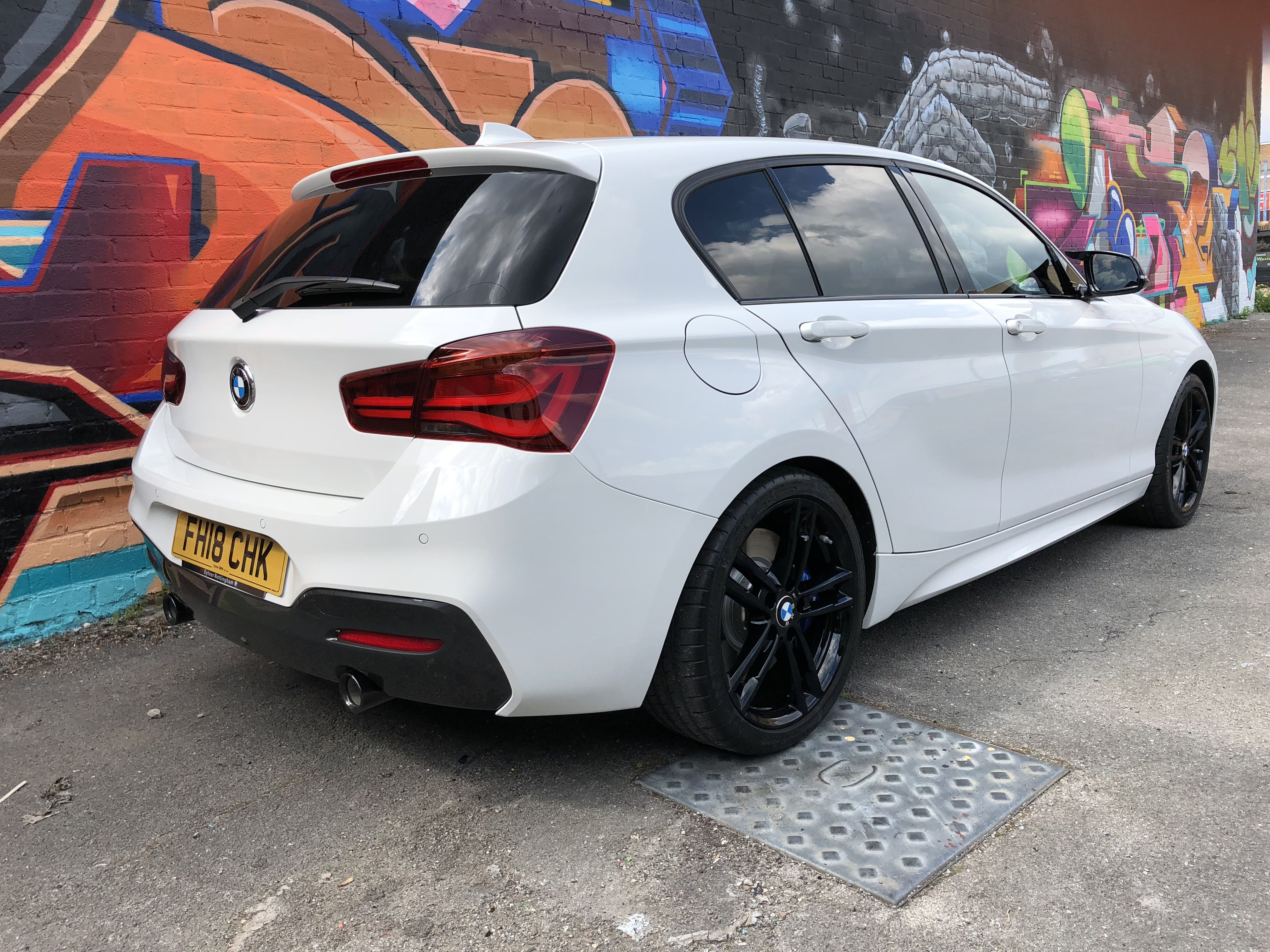 White M140i Shadow Edition With Images Bmw 1 Series Bmw Cars Bmw