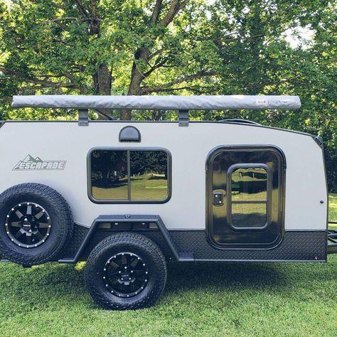 The Escapade Backcountry adventure amp overlanding camper trailer.