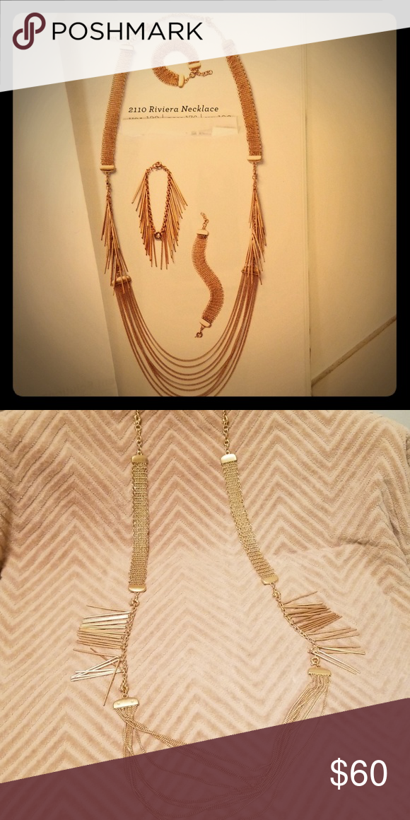 Rivera Necklaces Bracelets Nwt With Images Necklace Functional Jewelry Necklaces Bracelets