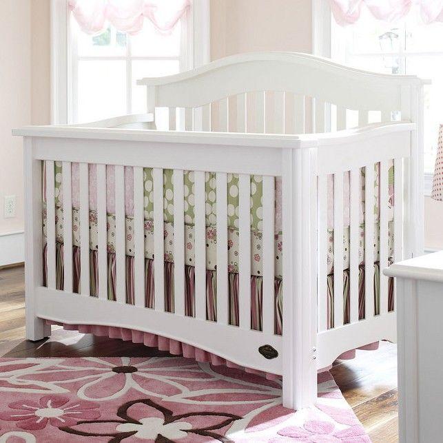 Bonavita Hudson Collection Lifestyle II Crib In Classic White   Cribs $490