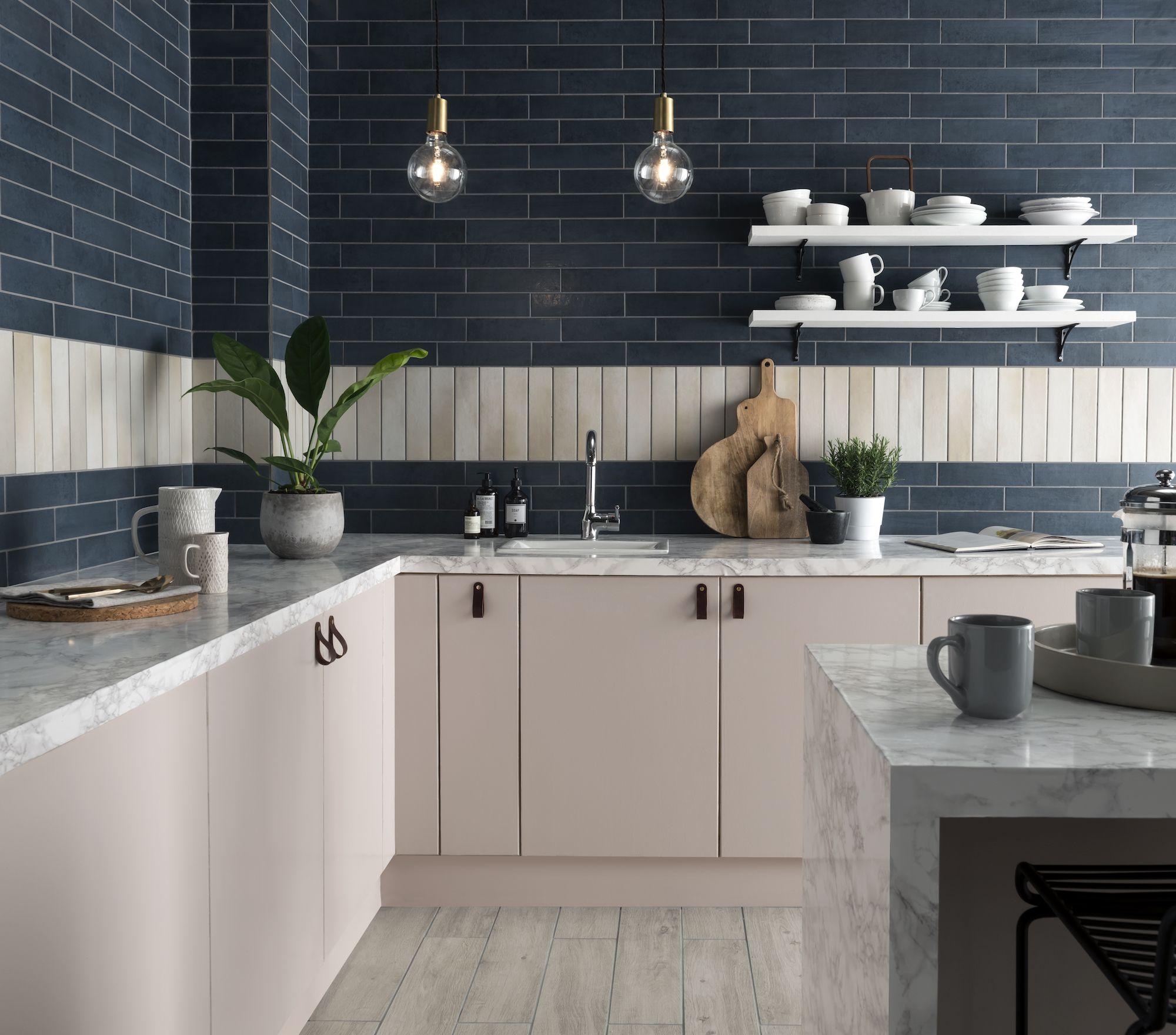 anya ocean deep blue tile topps tiles mood board ideas in 2019 rh pinterest co uk