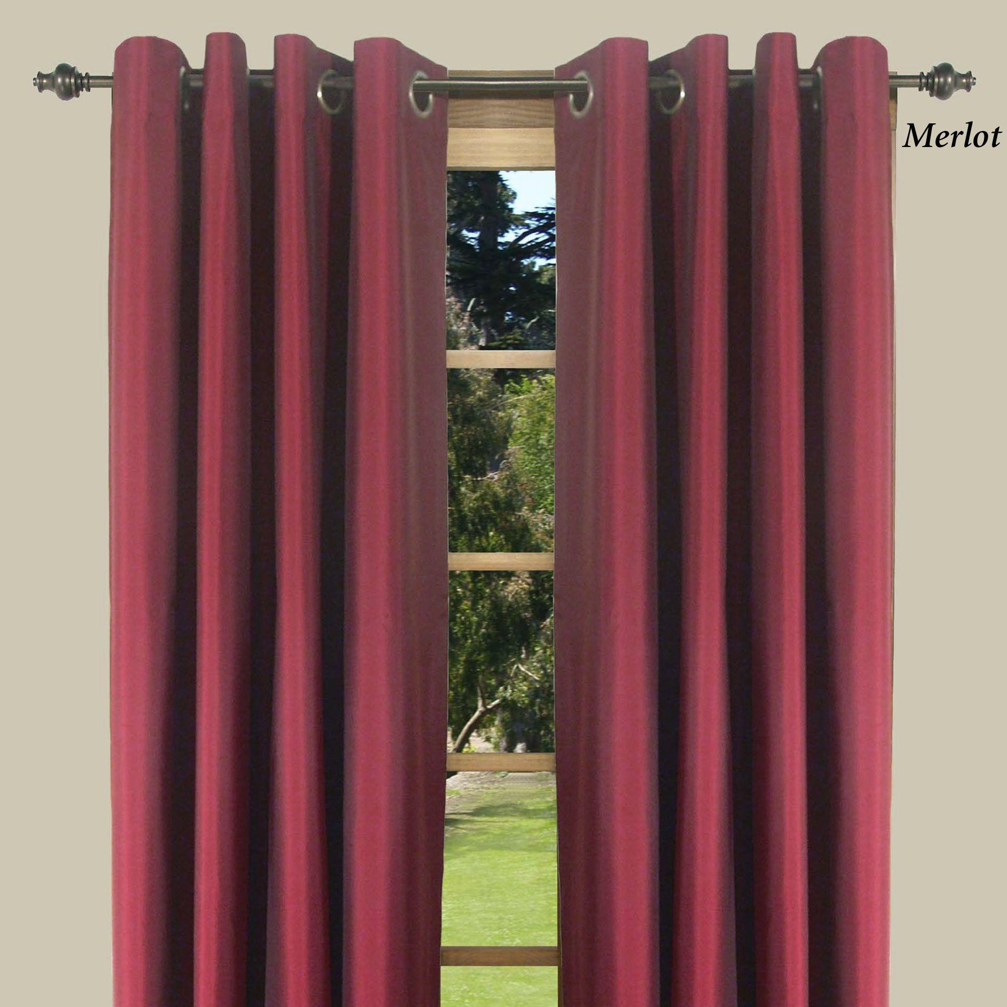 Thermal elegance grommet curtain panels grommet curtains curtain