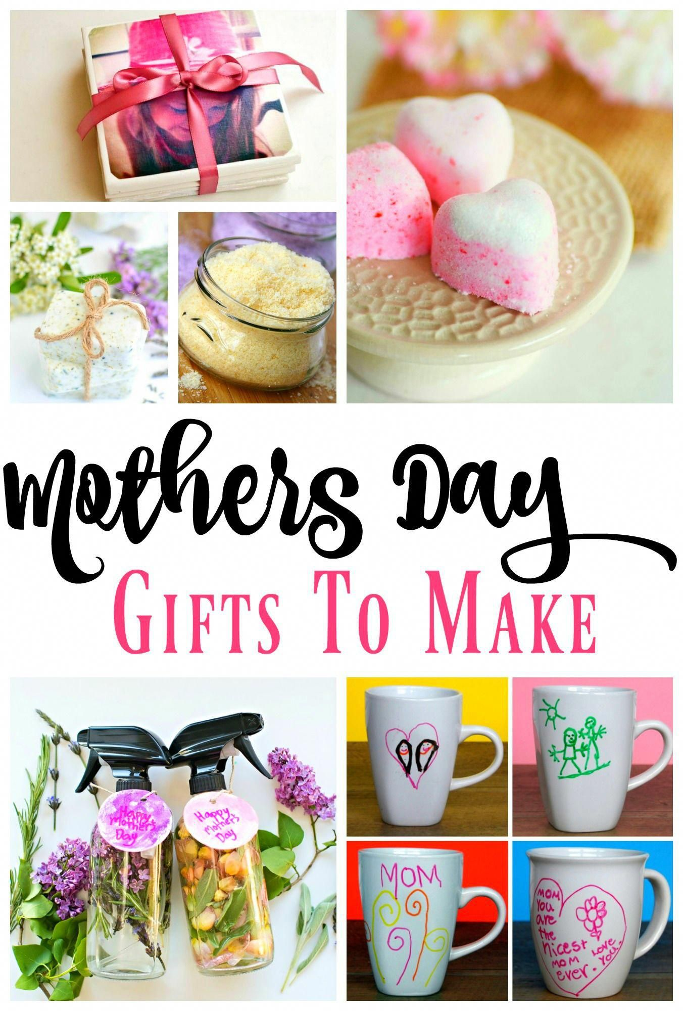 More than a dozen diy mothers day gift ideas to make for