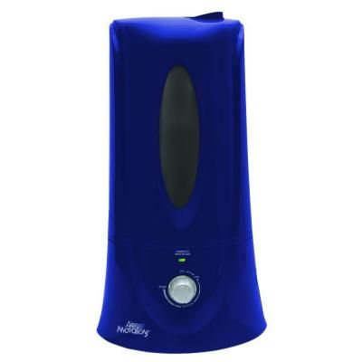 Air Innovations 1 1 Gal Clean Mist Ultrasonic Humidifier Deep Blue Humid12 Dp Blue The Home Depot Cleaning Ultrasonic Mists