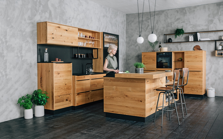 Walden Küche aus massivem Holz (mit Bildern
