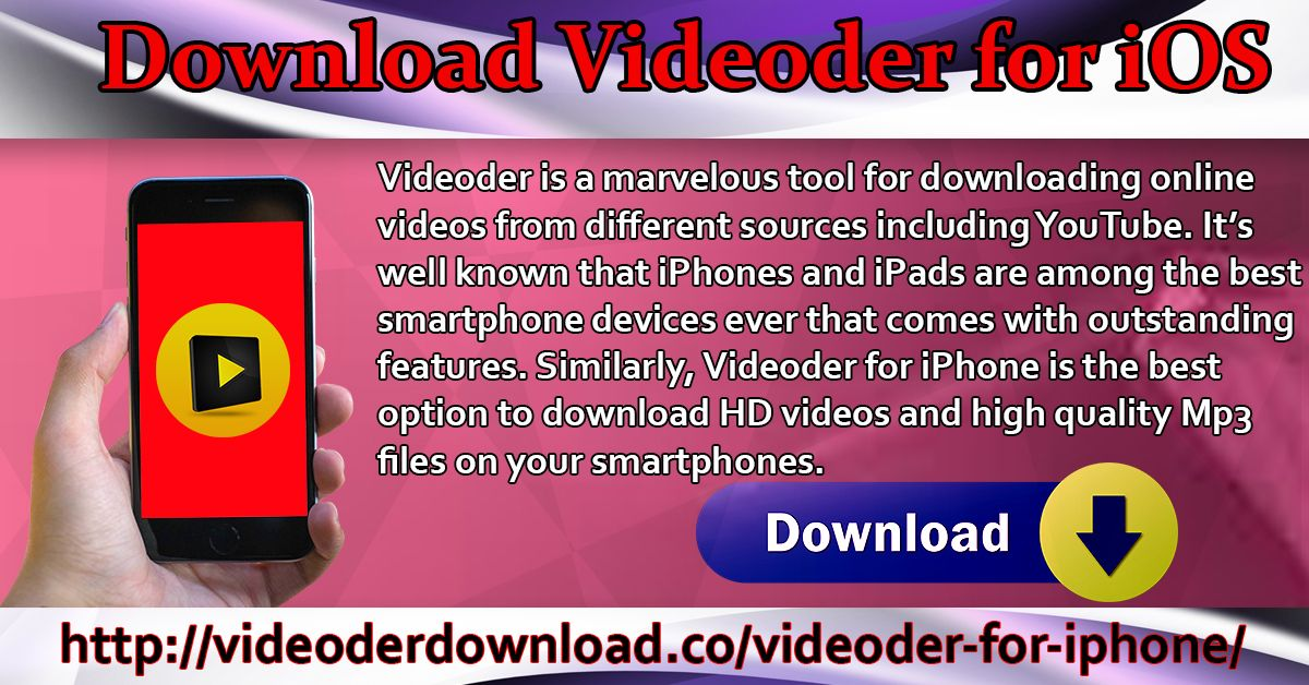 Pin on Download Videoder For iOS