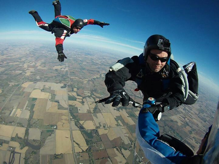 Having A Blast At Skydive Crete Skydiving Paragliding Crete