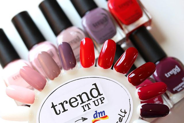 dm trend IT UP Theke: Neues Sortiment & Swatches | Nägel