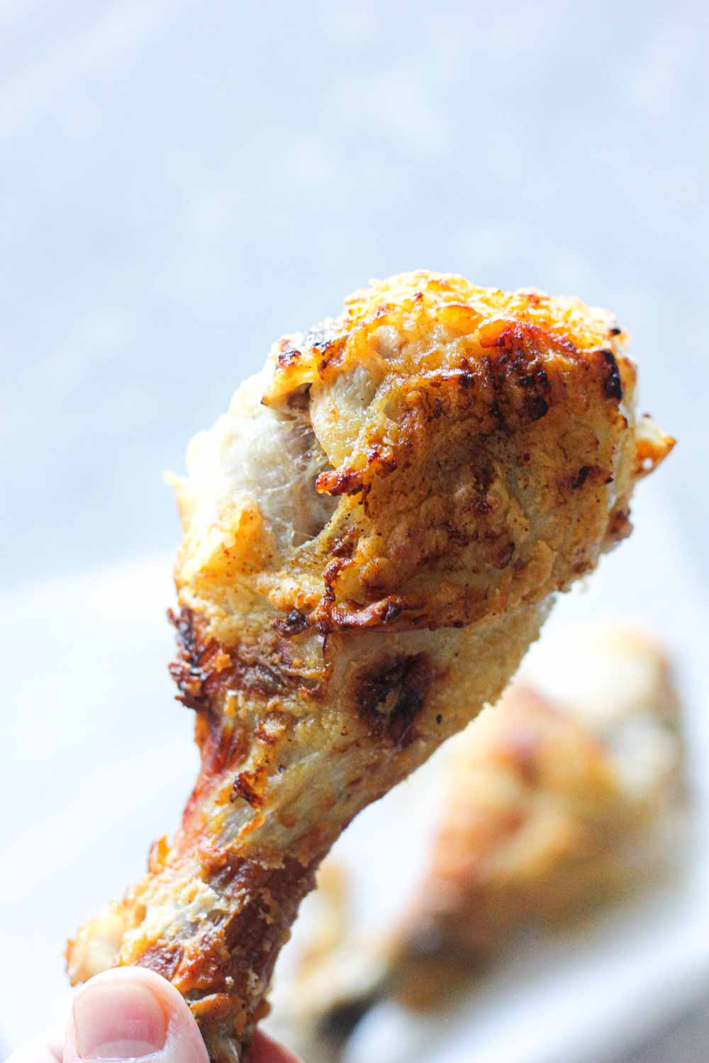 Delicious crunchy and very easy air fryer fried chicken