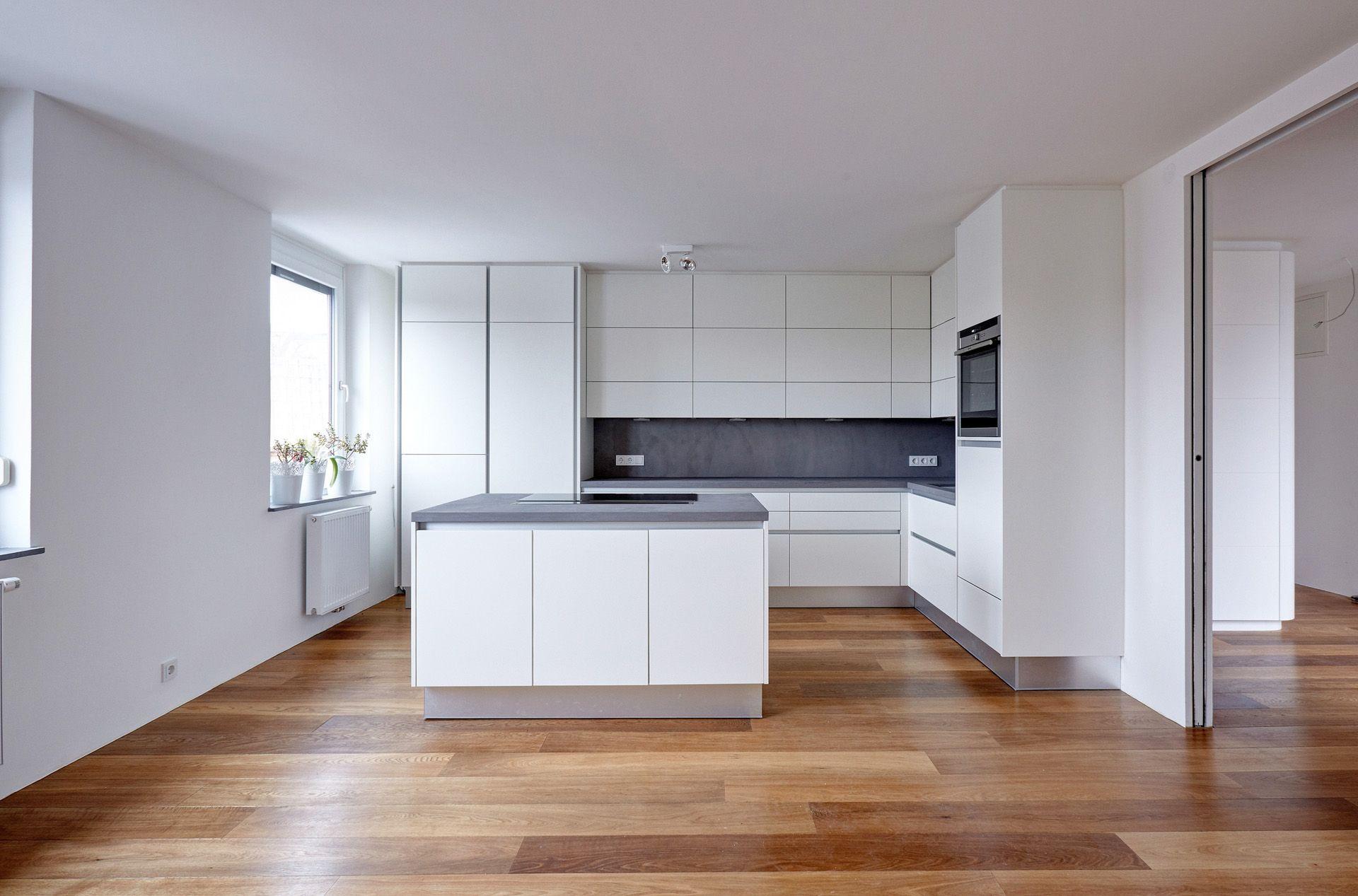 Kuchenarbeitsplatte Und Spritzschutz Beton Cire Original Farbe 63