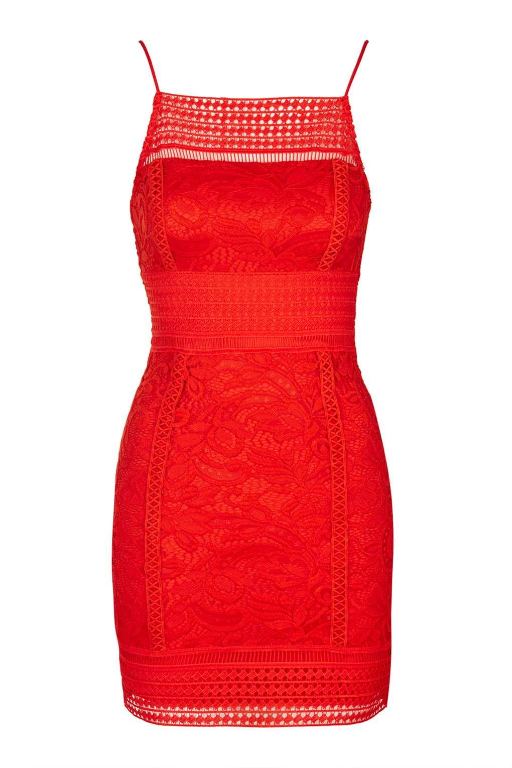 petite red strapless bodycon dress