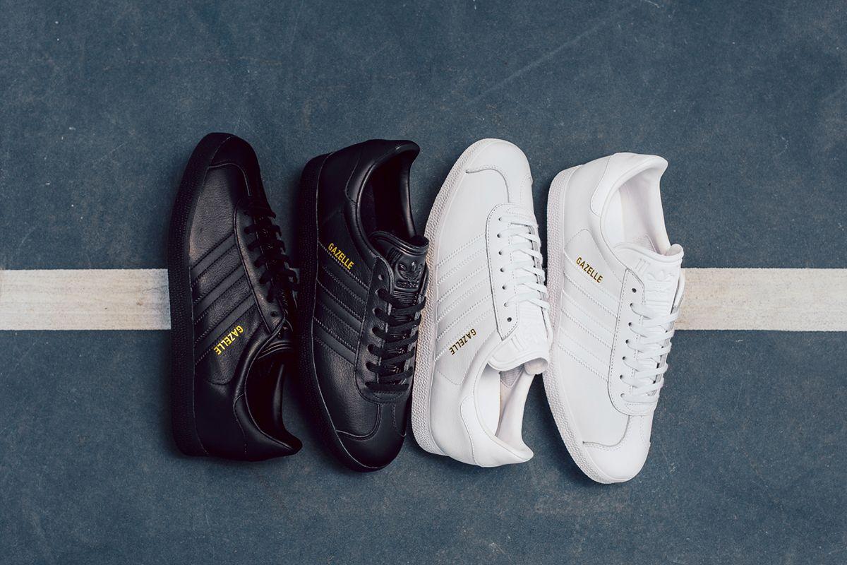 Adidas Originals gotas la gacela en cuero zapatos z parte 2