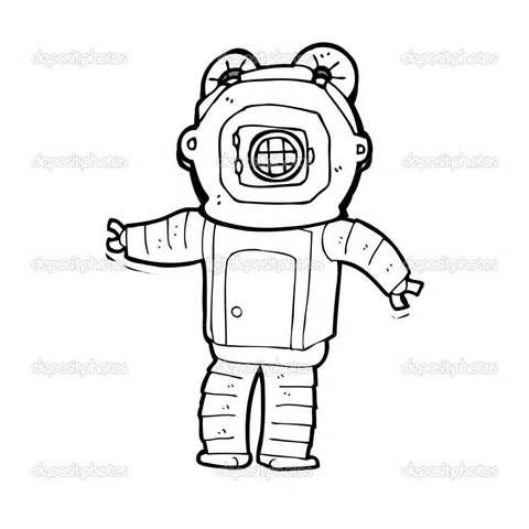 - Deep Sea Diver Colouring Pages (page 2) Colouring Pages, Printable Coloring  Pages, Printable Coloring