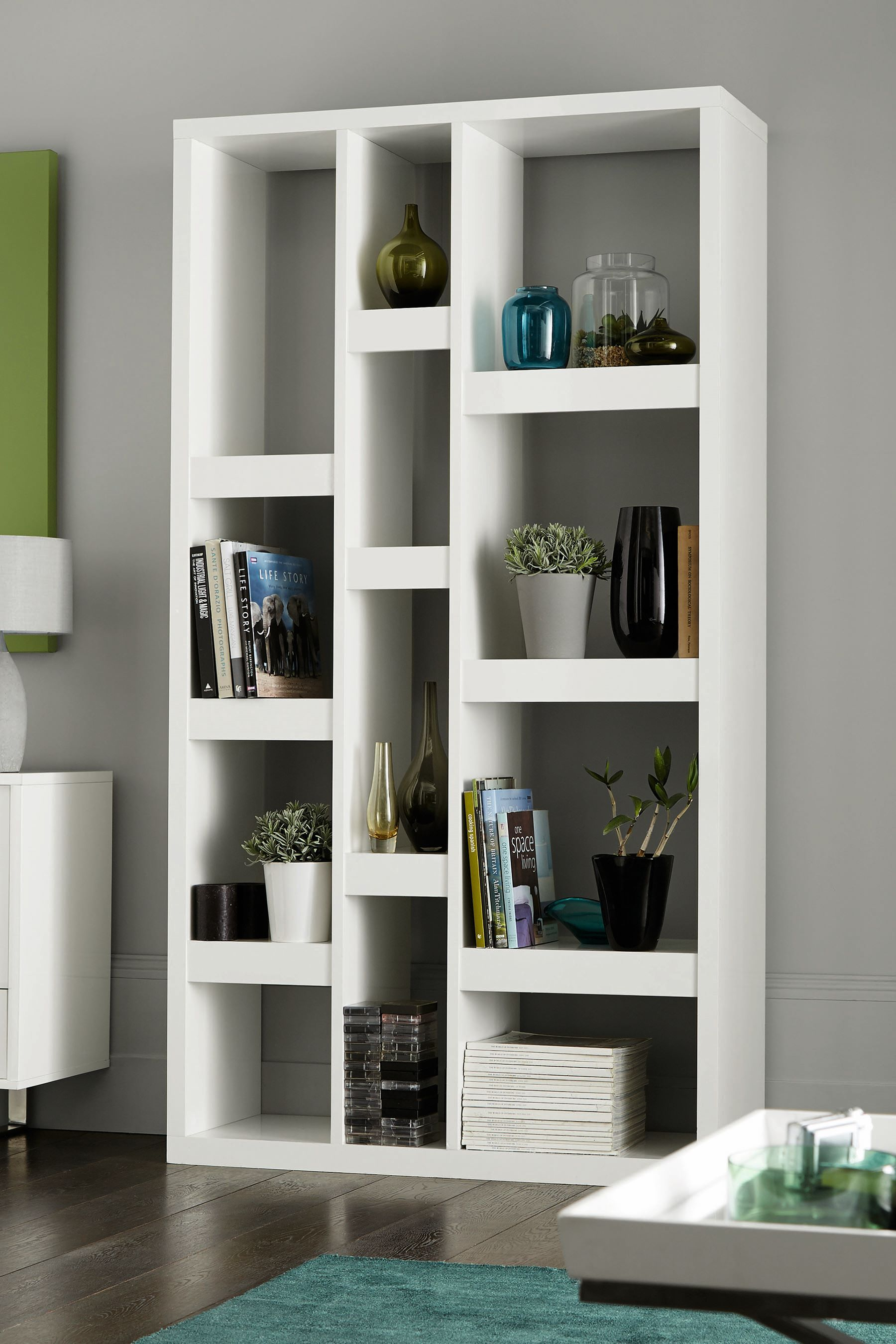 Next Logan Tall Shelves White Tall Shelves Shelves Bookcases Uk