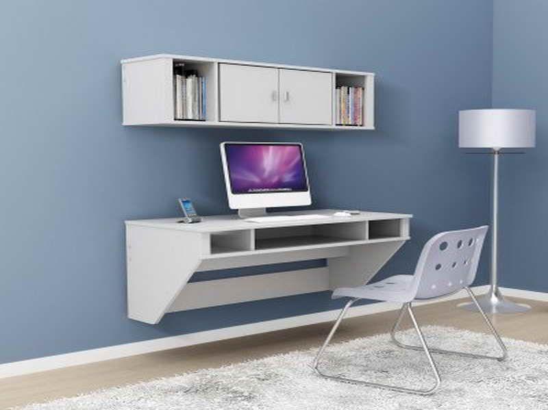floating desk black floating desk black with blue wall glevio com rh pinterest com