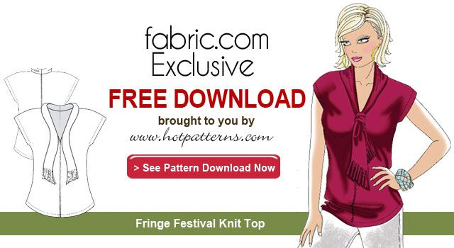 Contemporary Clothing Sewing Patterns Free Download Vignette - Easy ...