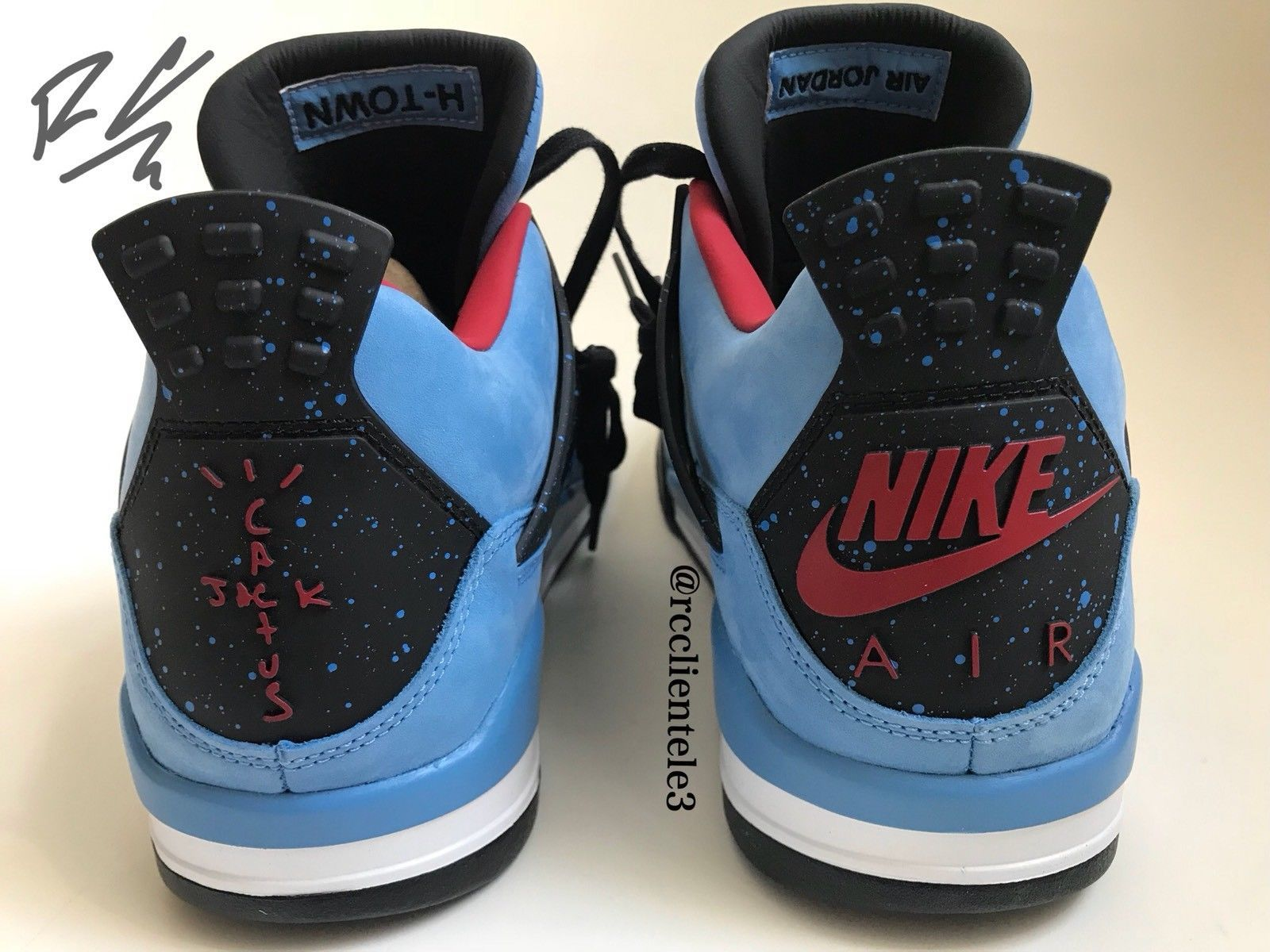 208e5909ae84 NIKE AIR JORDAN IV 4 RETRO US 12 TRAVIS SCOTT PROMO SAMPLE F F CACTUS JACK