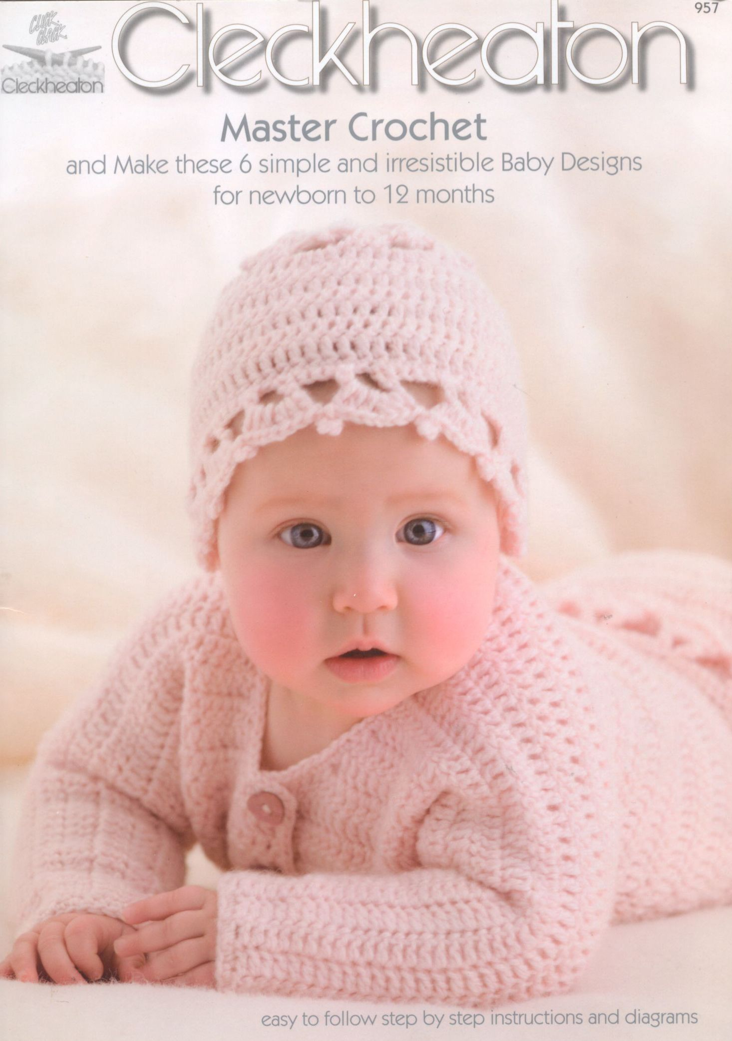 Master Crochet - Cleckheaton Book 957 - 0 to 12 months1 s 1 of 40 ...