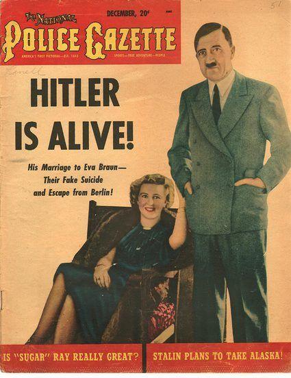 The National Police Gazette December 1951