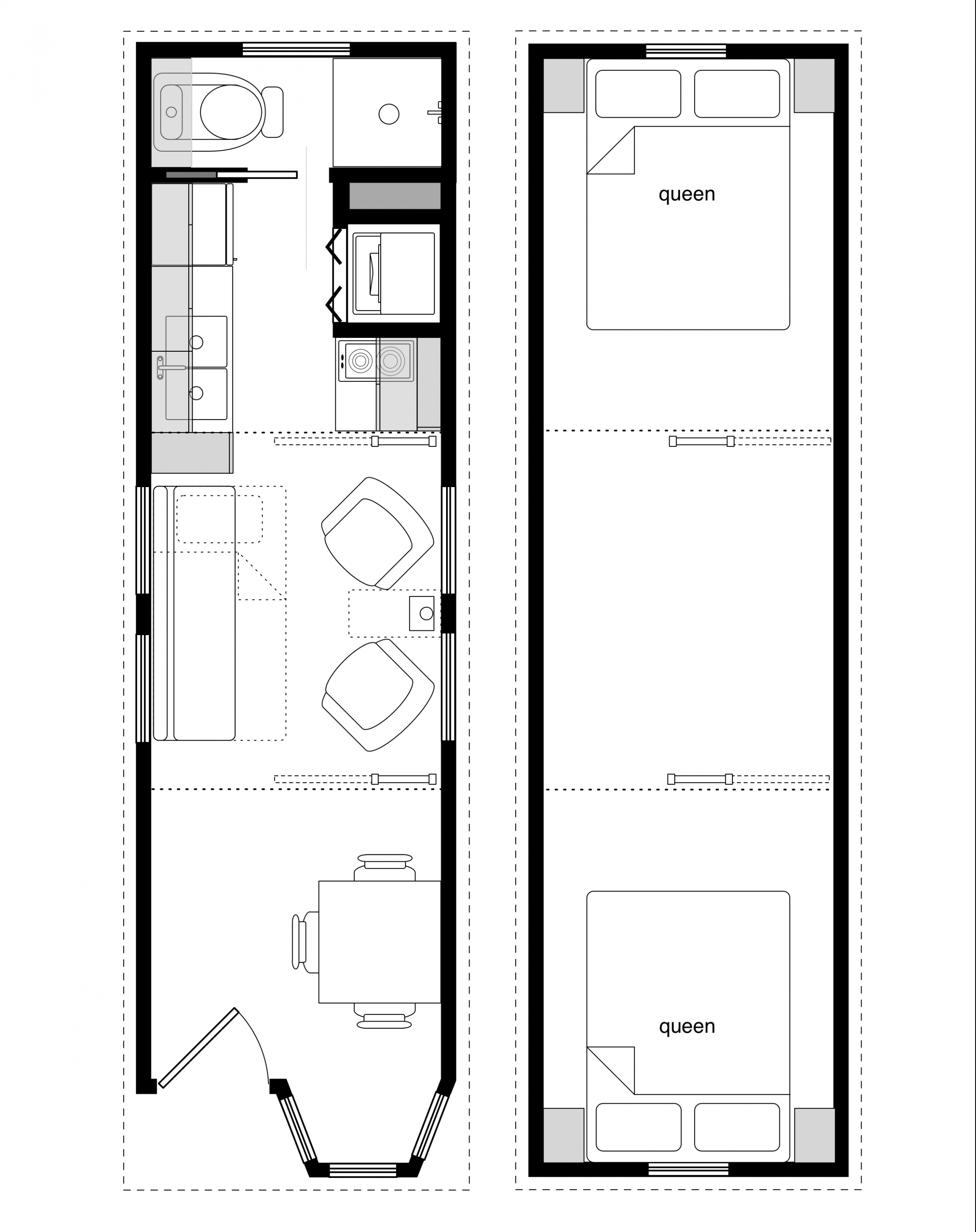 Sample Floor Plans For The 14 214 Coastal Cottage
