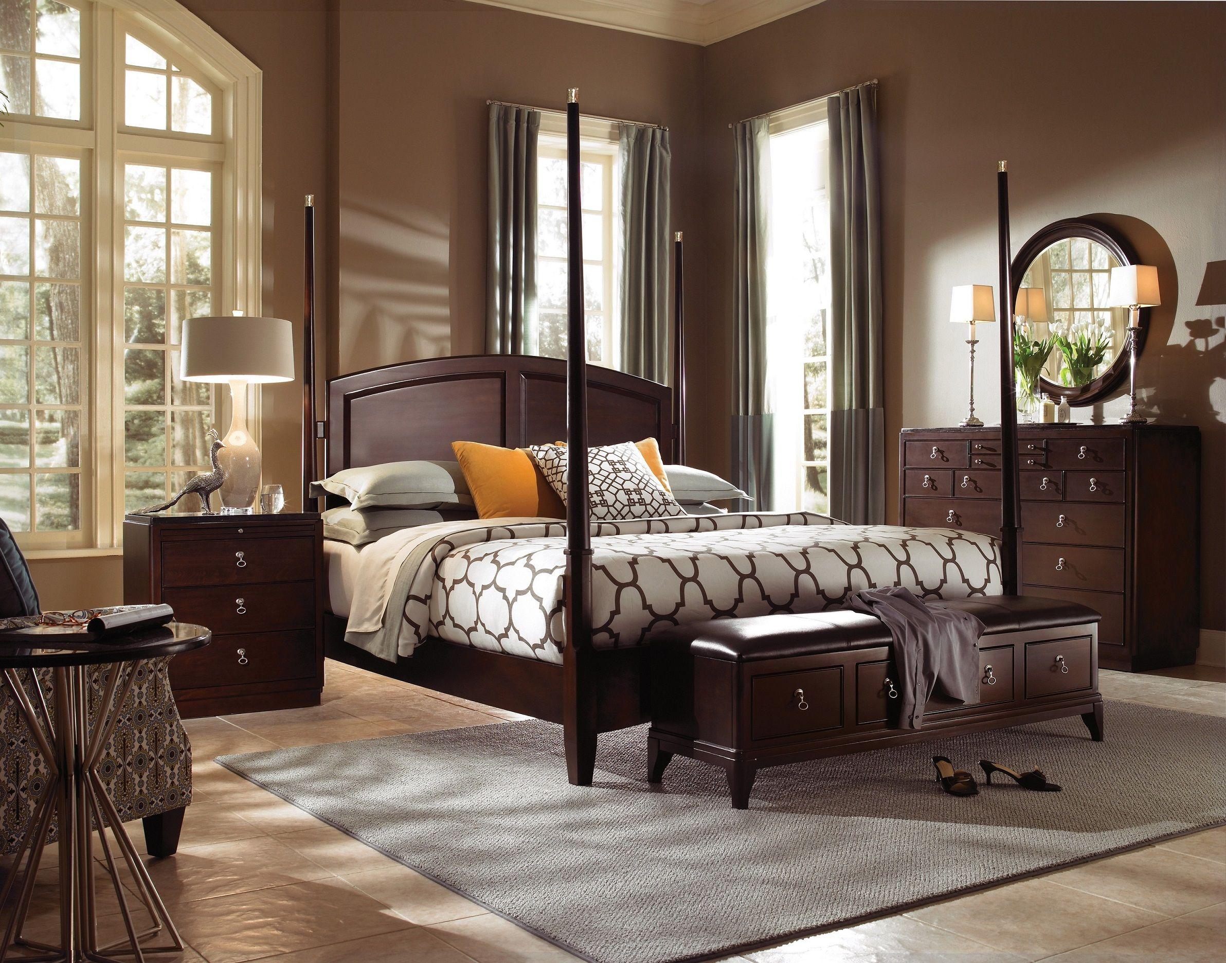 alston king poster bed by kincaid furniture furniture pinterest