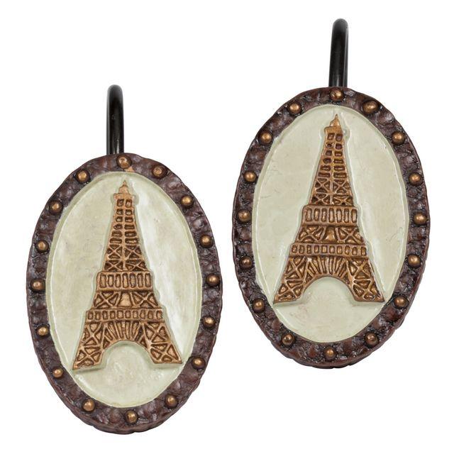 I Love Paris Shower Curtain & Bathroom Accessories - Linens4Less.com